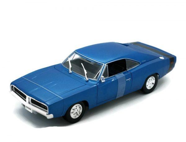 31387bl - 1969 DODGE CHARGER - BLUE
