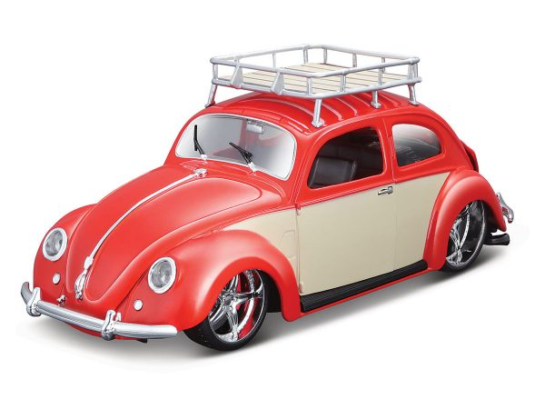 32614 red - 1951 Volkswagen Beetle