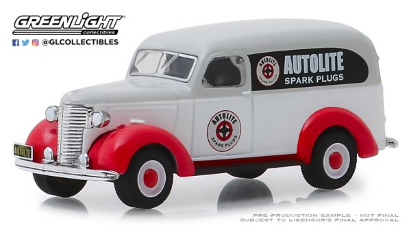 41080a - Autolite Spark Plugs - 1939 Chevrolet Panel Truck-Running on Empty Series 8