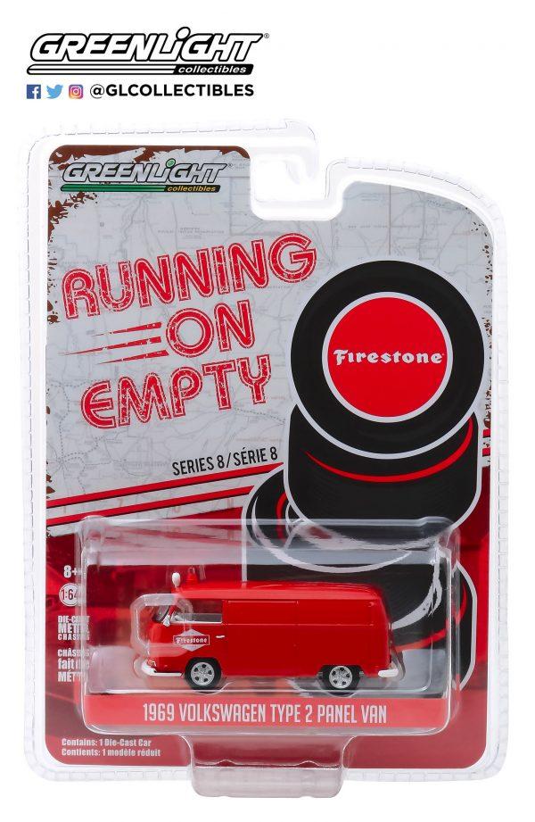 41080d1 - Firestone Tire Service - 1969 Volkswagen Type 2 Panel Van-Running on Empty Series 8