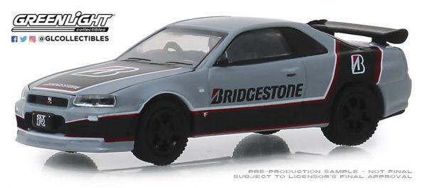 41080e - Bridgestone Racing - 2001 Nissan Skyline GT-R (BNR34)-Running on Empty Series 8