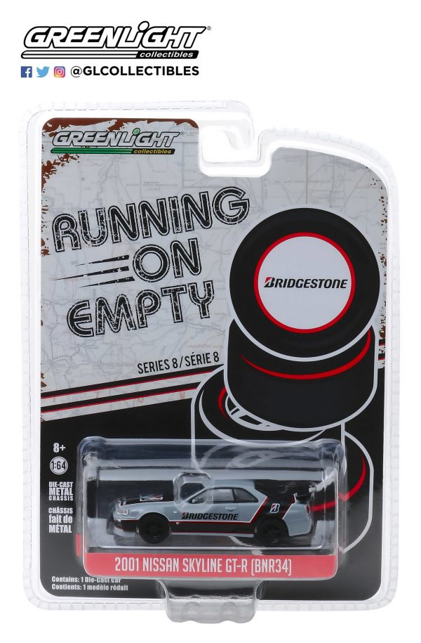 41080e1 - Bridgestone Racing - 2001 Nissan Skyline GT-R (BNR34)-Running on Empty Series 8