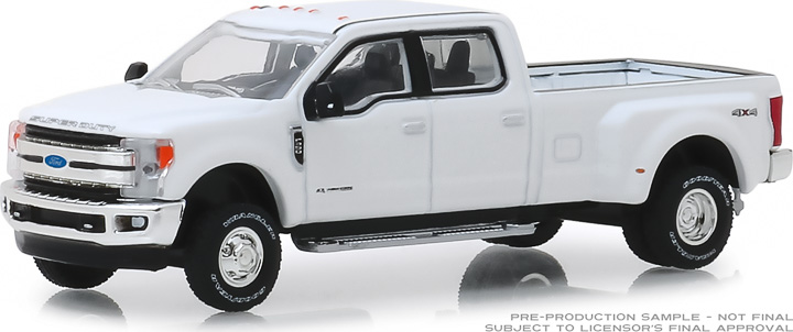 ford   king ranch dually  oxford white  coming  diecast depot