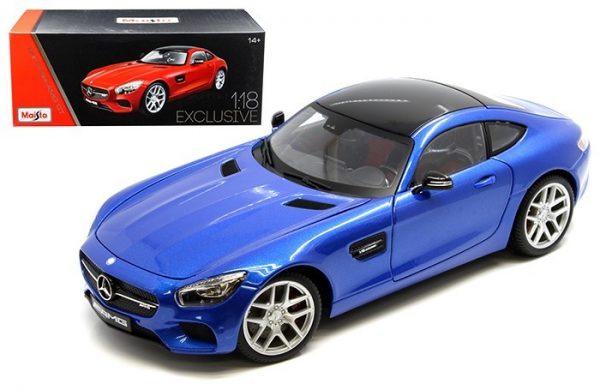 38131bl - MERCEDES AMG GT - MAIST0 EXCLUSIVE SERIES - BLUE