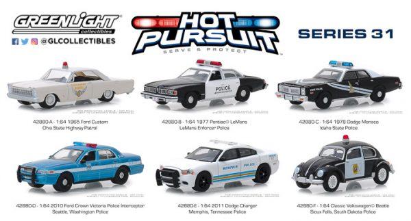 42880 - Hot Pursuit Series 31 - 1965 Ford Custom - Ohio State Highway Patrol