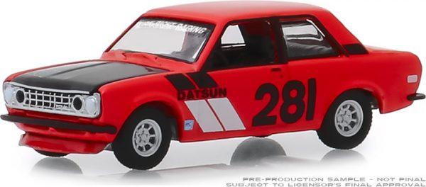 47040a - 1970 Datsun 510 - #281 Turn Right Racing