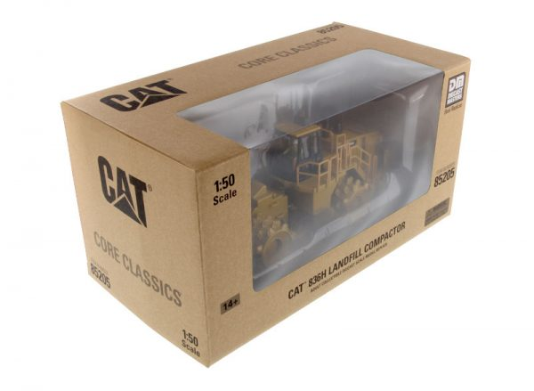 v6 85205 - CAT 836H Landfill Compactor- 1:50 Scale