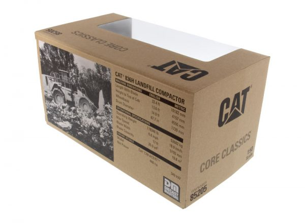 v7 85205 - CAT 836H Landfill Compactor- 1:50 Scale