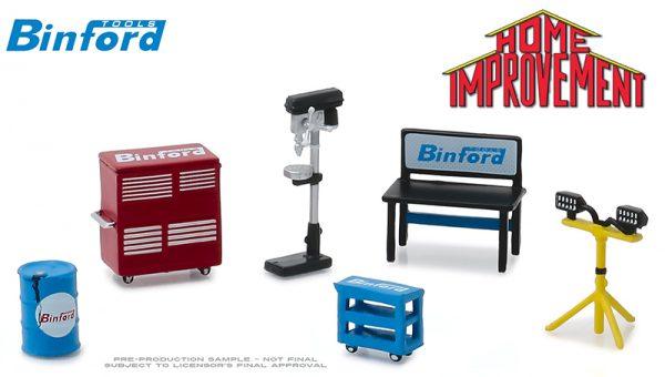 13175 - Binford Tools - Shop Tools Set - Home Improvement (TV Series, 1991-99)