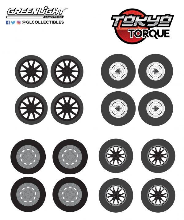 16030c - Tokyo Torque Wheel & Tire Packs