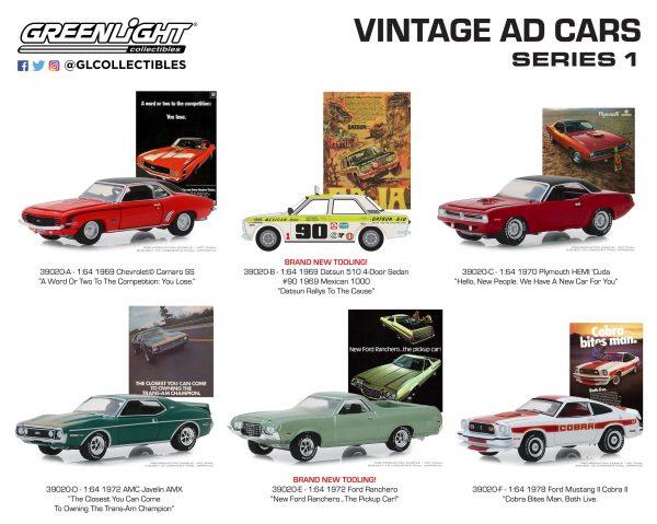 "39020set - 1969 Datsun 510 4-Door Sedan - #90 1969 Mexican 1000 - ""Datsun Rallys to the Cause"""