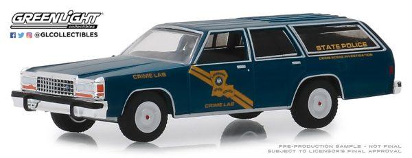 42890b - 1987 Ford LTD Crown Victoria Wagon - Louisiana State Police Crime Scene Investigation Crime Lab