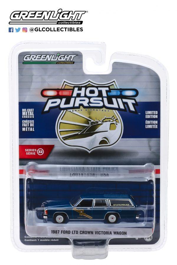42890b1 - 1987 Ford LTD Crown Victoria Wagon - Louisiana State Police Crime Scene Investigation Crime Lab