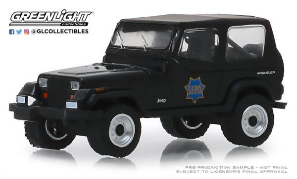 42890d 1 - 1994 Jeep Wrangler (YJ) - San Francisco Police Department - Hot Pursuit Series 32
