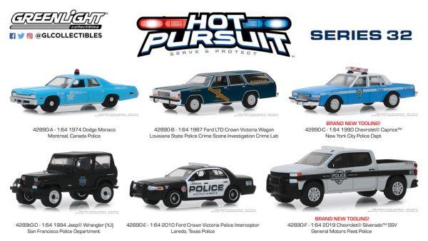 42890set - 1994 Jeep Wrangler (YJ) - San Francisco Police Department - Hot Pursuit Series 32