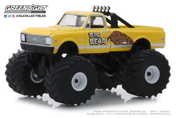 49040f1 - 1972 Chevrolet C20 Cheyene Monster Truck - Big Bear