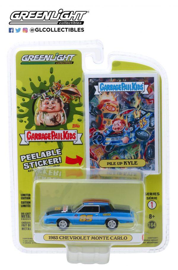 54010b - 1983 Chevrolet Monte Carlo - Pile Up Kyle - Garbage Pail Kids - Series 1