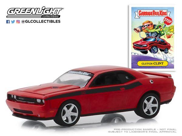 54010f1 - 2012 Dodge Challenger - Clutch Clint - Garbage Pail Kids - Series 1