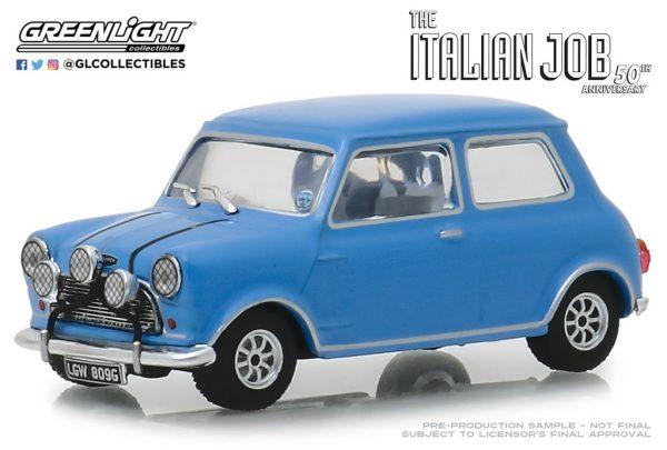 86549 - 1967 Austin Mini Cooper S 1275 Mk. I in Blue with Black Leather Straps - The Italian Job (1969)