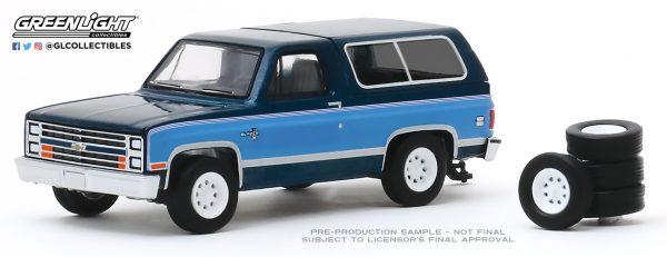 97080e1 - 1986 Chevrolet K5 Blazer with Spare Tires - Hobby Shop Series 8