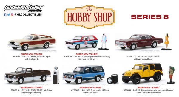 97080set2 - 1986 Chevrolet K5 Blazer with Spare Tires - Hobby Shop Series 8
