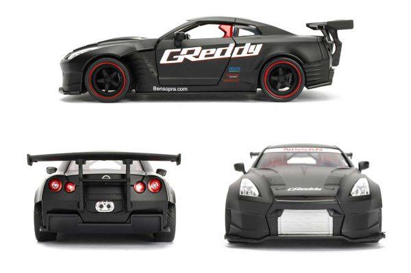 98646a - 2009 Nissan GT-R (R35) Ben Sopra - JDM Tuners by Jada Toys