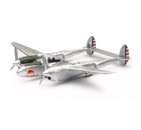 21253 - The Flying Bulls P38 Lightning (THESE ARE PLASTIC NOT DIECAST)