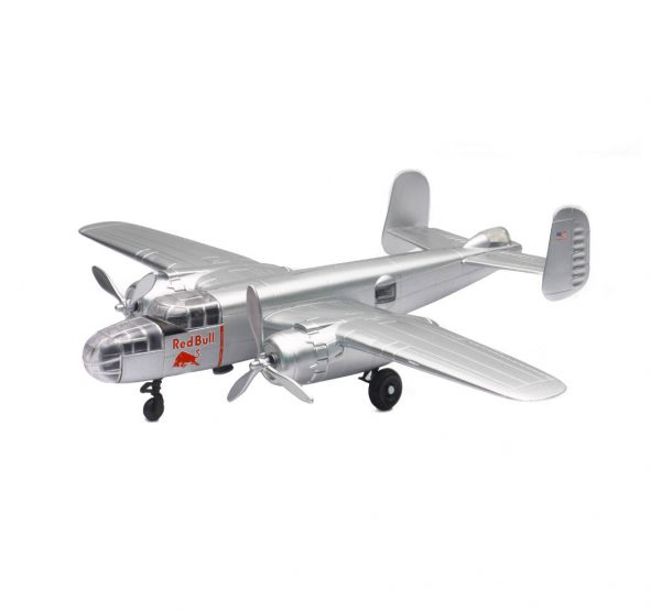 21263 - The Flying Bulls B-25J Mitchell Airplane (THESE ARE PLASTIC NOT DIECAST)