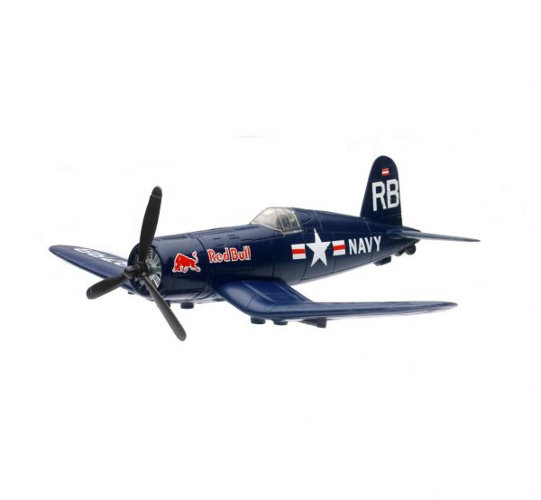 21273 - The Flying Bulls F-4U4 Corsair (THESE ARE PLASTIC NOT DIECAST)