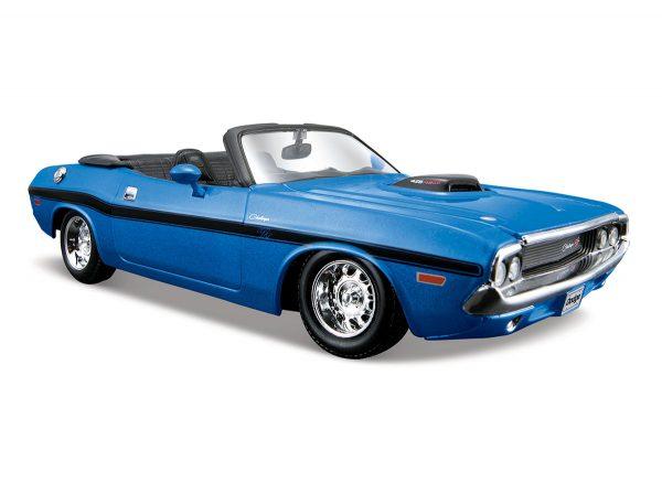 31264 blue - 1970 Dodge Challenger R/T Convertible - blue