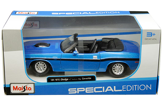31264bl - 1970 Dodge Challenger R/T Convertible - blue