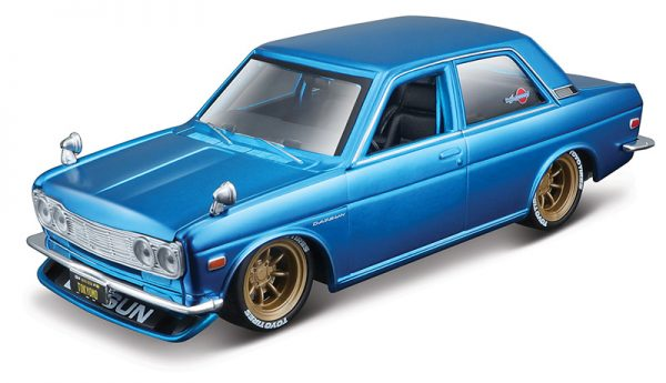32527 blue - 1971 Datsun 510 - Toyko Model - blue