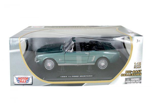 73145 green - 1964 1/2 Ford Mustang Convertible - Green