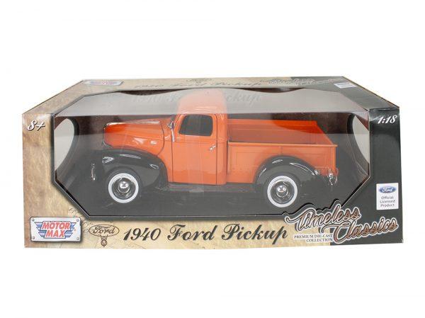 73170 orange - 1940 Ford Pick up Truck - Orange