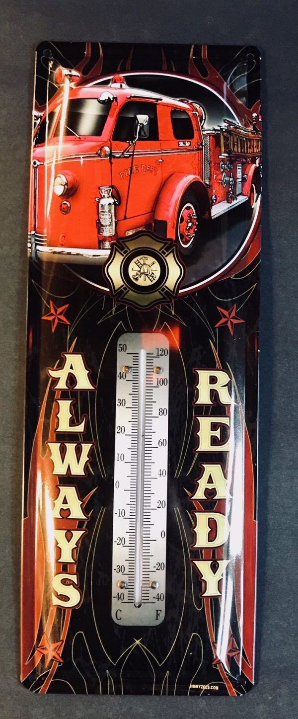 13936 - Fire Truck (Fire Dept) - ALWAYS READY - Thermometer