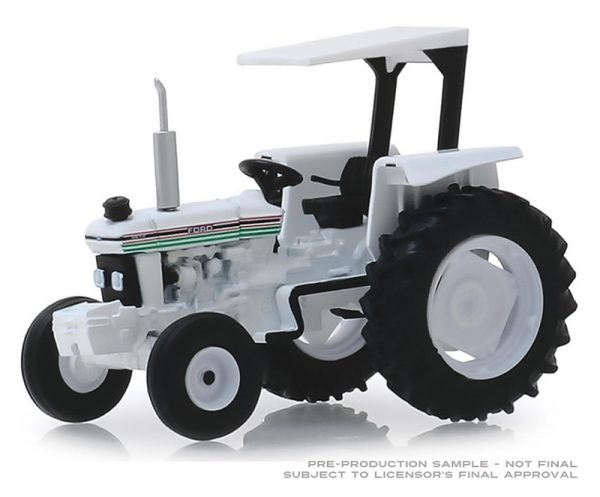 48030 f - 1985 Ford 5610 Tractor in White & Black -City of Houston, Texas