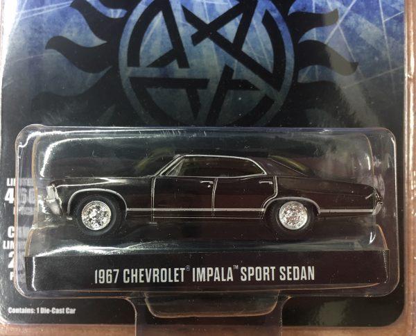 51222 - 1967 Chevrolet Impala Sport Sedan - Supernatural John the Hunt-CHROME EDITION