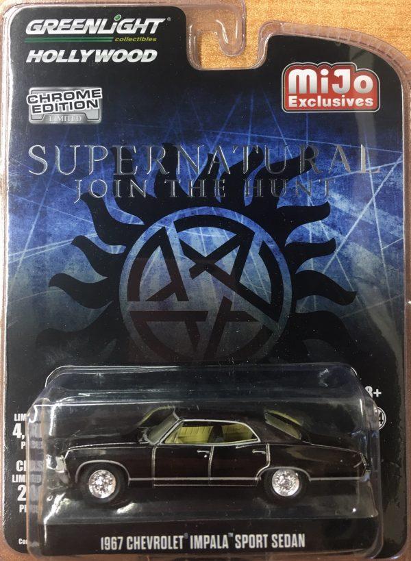 51222a - 1967 Chevrolet Impala Sport Sedan - Supernatural John the Hunt-CHROME EDITION