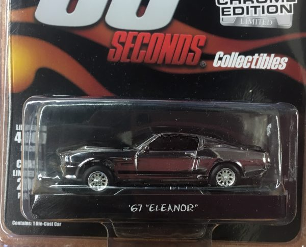 51227 - 1967 Ford Mustang Fastback - Gone in 60 Seconds -CHROME EDITION