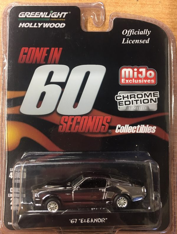 51227a - 1967 Ford Mustang Fastback - Gone in 60 Seconds -CHROME EDITION