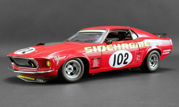 a1801829 - 1969 FORD BOSS 302 TRANS AM MUSTANG - DDA EXCLUSIVE #102 SIDCHROME
