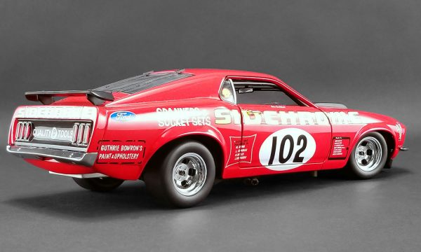 detail a1801829 2 1 - 1969 FORD BOSS 302 TRANS AM MUSTANG - DDA EXCLUSIVE #102 SIDCHROME