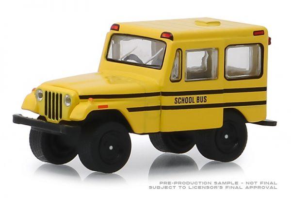 30065 - 1974 Jeep DJ-5 School Bus