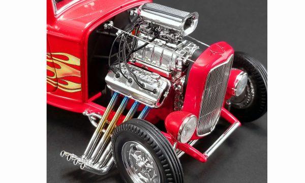 a1805016c - 1932 FORD 3 WINDOW - FLAMETHROWER