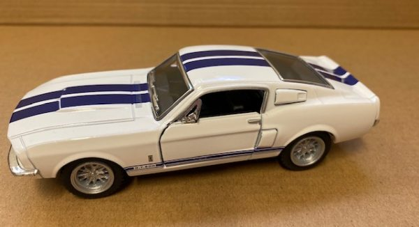 """kt5372d2 - 1967 Ford Shelby GT500 - 5"""" long -pull back action"""