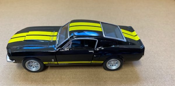 """kt5372d4 - 1967 Ford Shelby GT500 - 5"""" long -pull back action"""