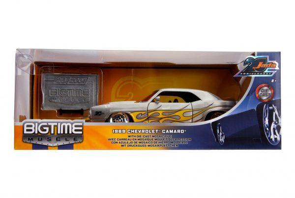 31073 1.24 jada 20th btm 1969 chevy camaro 7 - 1969 CHEVY CAMARO - 1:24 JADA 20TH – BIGTIME MUSCLE