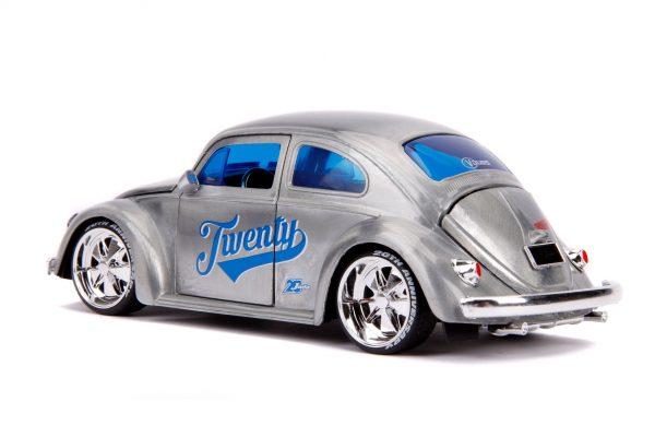 31083 1.24 jada 20th vdubs 1959 vw beetle 4 - 1959 VW BEETLE- 1:24 Jada 20th - VDUBS -