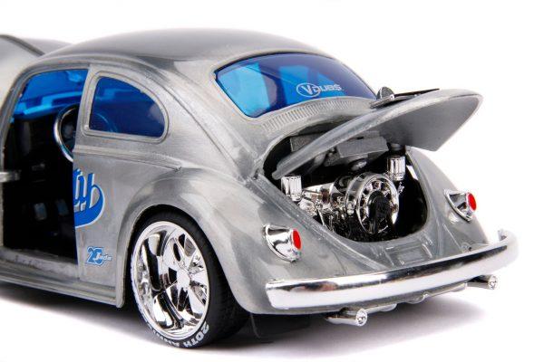 31083 1.24 jada 20th vdubs 1959 vw beetle 6 - 1959 VW BEETLE- 1:24 Jada 20th - VDUBS -