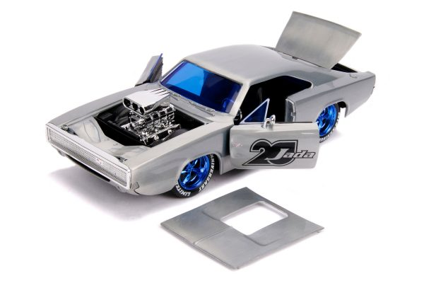 31092 1.24 jada 20th fast furious 1970 dodge charger 5 scaled - 1970 DODGE CHARGER R/T – FAST & FURIOUS